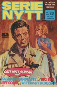 Cover Thumbnail for Serie-nytt [delas?] (Semic, 1970 series) #1/1976