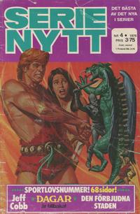 Cover Thumbnail for Serie-nytt [delas?] (Semic, 1970 series) #4/1976