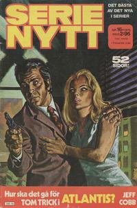 Cover Thumbnail for Serie-nytt [delas?] (Semic, 1970 series) #16/1976