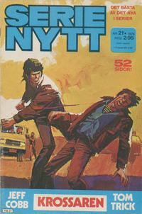 Cover Thumbnail for Serie-nytt [delas?] (Semic, 1970 series) #21/1976