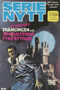 Cover Thumbnail for Serie-nytt [delas?] (Semic, 1970 series) #1/1975