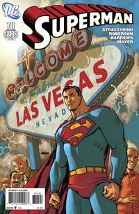 Cover Thumbnail for Superman (DC, 2006 series) #711 [10 for 1 Variant]