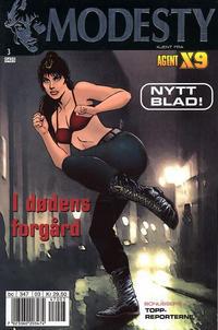 Cover Thumbnail for Modesty (Hjemmet / Egmont, 2004 series) #3