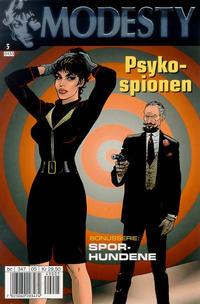 Cover Thumbnail for Modesty (Hjemmet / Egmont, 2004 series) #5