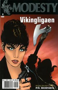Cover Thumbnail for Modesty (Hjemmet / Egmont, 2004 series) #8