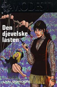 Cover Thumbnail for Modesty (Hjemmet / Egmont, 2004 series) #13