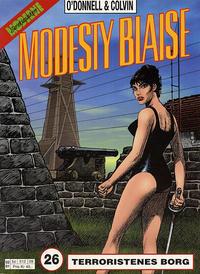 Cover Thumbnail for Modesty Blaise (Hjemmet / Egmont, 1998 series) #26 - Terroristenes borg