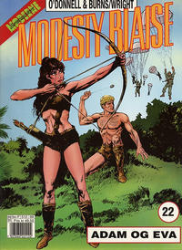 Cover Thumbnail for Modesty Blaise (Hjemmet / Egmont, 1998 series) #22 - Adam og Eva