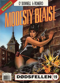 Cover Thumbnail for Modesty Blaise (Hjemmet / Egmont, 1998 series) #19 - Dødsfellen
