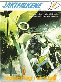 Cover Thumbnail for Jaktfalkene (Romanforlaget, 1972 series) #2 - Oppdrag i Arktis