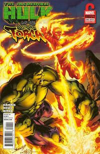Cover Thumbnail for Incredible Hulk & the Human Torch: From the Marvel Vault (Marvel, 2011 series) #1