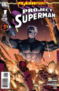Cover Thumbnail for Flashpoint: Project Superman (DC, 2011 series) #1