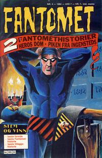 Cover Thumbnail for Fantomet (Semic, 1976 series) #4/1984