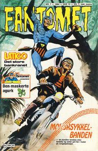 Cover Thumbnail for Fantomet (Semic, 1976 series) #7/1984