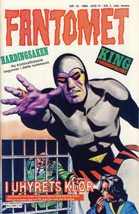 Cover Thumbnail for Fantomet (Semic, 1976 series) #10/1984