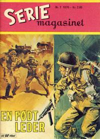 Cover Thumbnail for Seriemagasinet (Serieforlaget / Se-Bladene / Stabenfeldt, 1951 series) #7/1976
