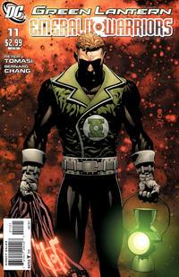 Cover Thumbnail for Green Lantern: Emerald Warriors (DC, 2010 series) #11 [Scott Clark Variant Cover]
