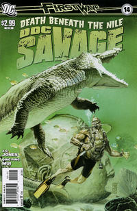 Cover Thumbnail for Doc Savage (DC, 2010 series) #14