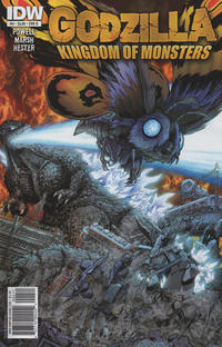 Cover Thumbnail for Godzilla: Kingdom of Monsters (IDW, 2011 series) #4 [Cover B]