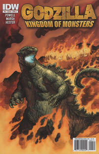 Cover for Godzilla: Kingdom of Monsters (IDW, 2011 series) #4 [Cover B]