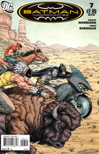 Cover for Batman, Inc. (DC, 2011 series) #7