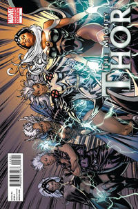 Cover Thumbnail for The Mighty Thor (Marvel, 2011 series) #2 [X-Men Evolutions Variant]