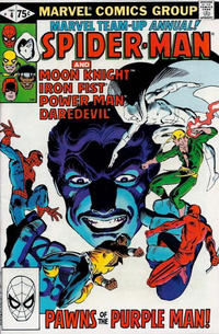 Cover Thumbnail for Marvel Team-Up Annual (Marvel, 1976 series) #4 [Direct]