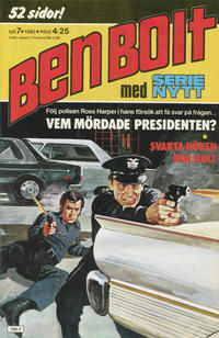 Cover Thumbnail for Serie-nytt [delas?] (Semic, 1970 series) #7/1980