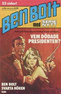 Cover Thumbnail for Serie-nytt [delas?] (Semic, 1970 series) #9/1980