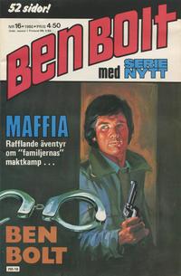 Cover Thumbnail for Serie-nytt [delas?] (Semic, 1970 series) #16/1980