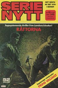 Cover Thumbnail for Serie-nytt [delas?] (Semic, 1970 series) #10/1977