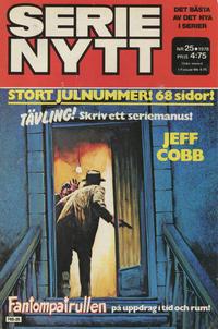 Cover Thumbnail for Serie-nytt [delas?] (Semic, 1970 series) #25/1978