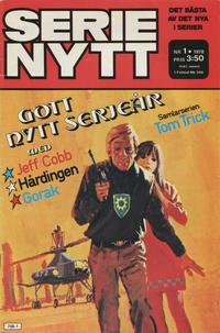 Cover Thumbnail for Serie-nytt [delas?] (Semic, 1970 series) #1/1978