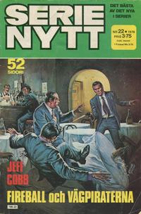 Cover Thumbnail for Serie-nytt [delas?] (Semic, 1970 series) #22/1978