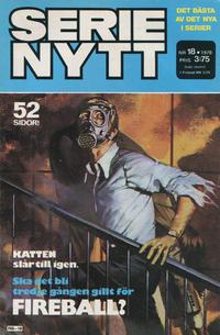 Cover Thumbnail for Serie-nytt [delas?] (Semic, 1970 series) #18/1978