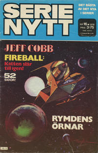 Cover Thumbnail for Serie-nytt [delas?] (Semic, 1970 series) #16/1978