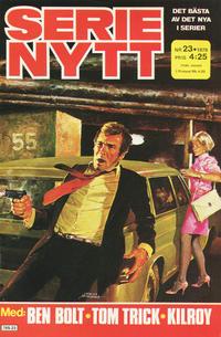 Cover Thumbnail for Serie-nytt [delas?] (Semic, 1970 series) #23/1979