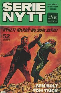 Cover Thumbnail for Serie-nytt [delas?] (Semic, 1970 series) #5/1979