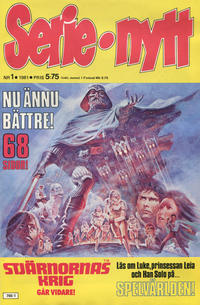 Cover Thumbnail for Serie-nytt [delas?] (Semic, 1970 series) #1/1981
