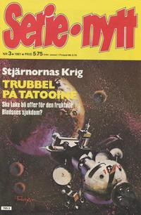 Cover Thumbnail for Serie-nytt [delas?] (Semic, 1970 series) #3/1981