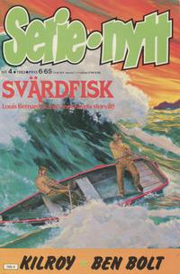 Cover Thumbnail for Serie-nytt [delas?] (Semic, 1970 series) #4/1983