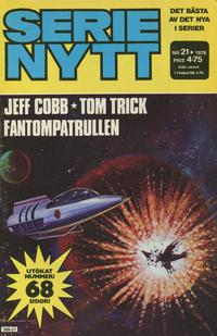 Cover Thumbnail for Serie-nytt [delas?] (Semic, 1970 series) #21/1978