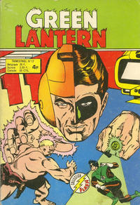 Cover Thumbnail for Green Lantern (Arédit-Artima, 1972 series) #17