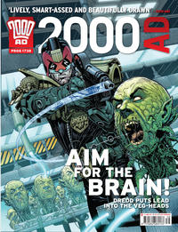 Cover Thumbnail for 2000 AD (Rebellion, 2001 series) #1738