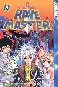 Cover Thumbnail for Rave Master (Tokyopop, 2004 series) #8