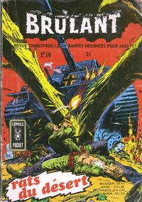 Cover Thumbnail for Brûlant (Arédit-Artima, 1967 series) #21