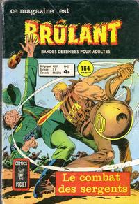 Cover Thumbnail for Brûlant (Arédit-Artima, 1967 series) #37