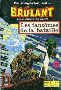 Cover Thumbnail for Brûlant (Arédit-Artima, 1967 series) #38