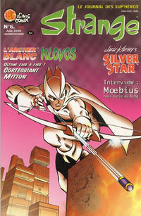 Cover Thumbnail for Strange (Organic Comix, 2007 series) #6