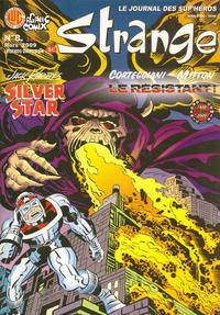 Cover Thumbnail for Strange (Organic Comix, 2007 series) #8